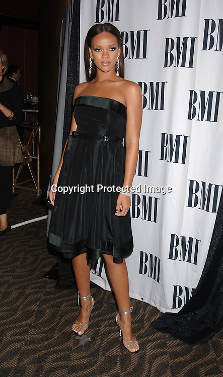 Rihanna..at The 6th Annual BMI Urban Awards honoring the songwriters and publishers of the most performed urban songs on US radio and television on August 30, 2006..at Roseland. ..Robin Platzer, Twin Images