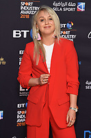 Amy Fuller arriving for the BT Sport Industry Awards 2018 at the Battersea Evolution, London, UK. <br /> 26 April  2018<br /> Picture: Steve Vas/Featureflash/SilverHub 0208 004 5359 sales@silverhubmedia.com