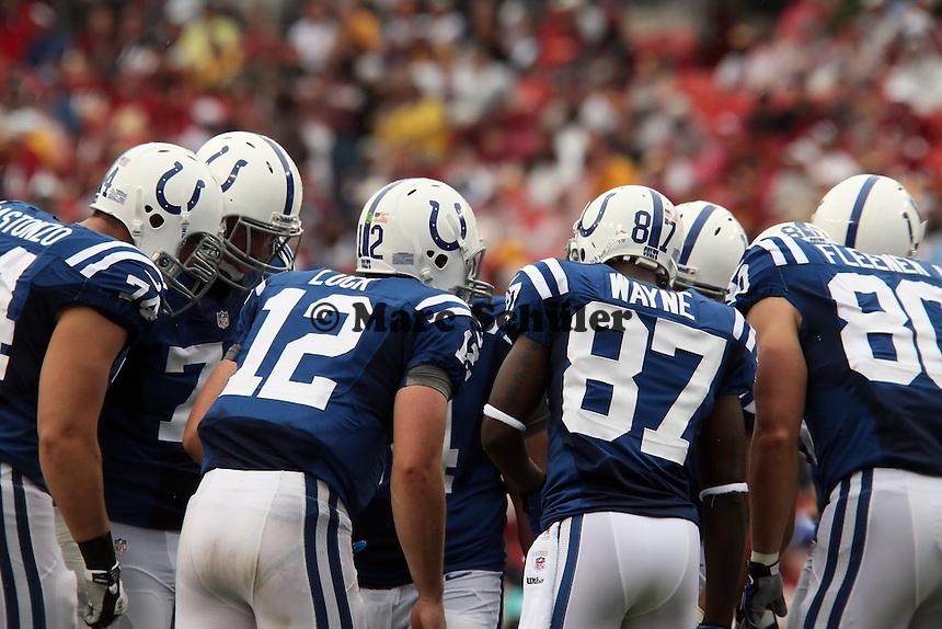 Colts besprechen sich