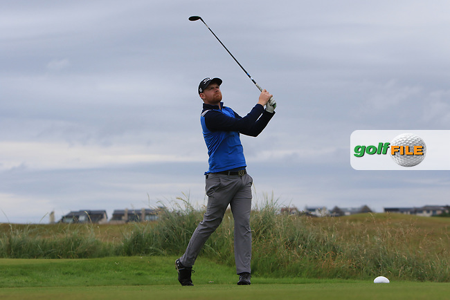Ruairi O'Connor during Round 2 of the North of Ireland Amateur Open Championship 2019 at Portstewart Golf Club, Portstewart, Co. Antrim on Tuesday 9th July 2019.<br /> Picture:  Thos Caffrey / Golffile<br /> <br /> All photos usage must carry mandatory copyright credit (© Golffile | Thos Caffrey)
