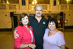 Waterbury, CT-14, September 20107-091717CM15 SOCIAL MOMENTS--  From left, Cindy and Mike Lawson of Prospect, with Sheree Marcucci, of the Waterbury Palace Theater  are photographed during the second annual Meatballs & Vino Fundraising event at the Palace Theater in Waterbury on Wednesday. Christopher Massa Republican-American