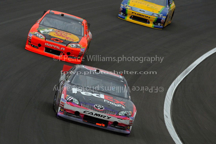 Denny Hamlin, (#11)  and Jamie McMurray (#1)