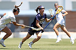 CHAPEL HILL, NC - MAY 20: Navy's Andie O'Sullivan (30). The University of North Carolina Tar Heels hosted the U.S. Naval Academy Midshipmen on May 20, 2017, at Fetzer Field in Chapel Hill, NC in an NCAA Women's Lacrosse Tournament Quarterfinal match. Navy won the game 16-14.