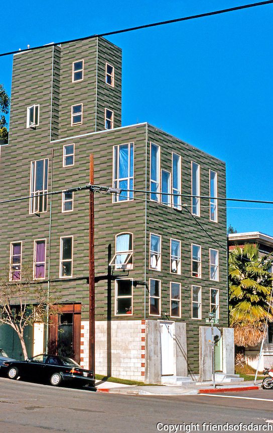 """Armistead """"Ted"""" Smith. Low-cost housing. Photo '95."""