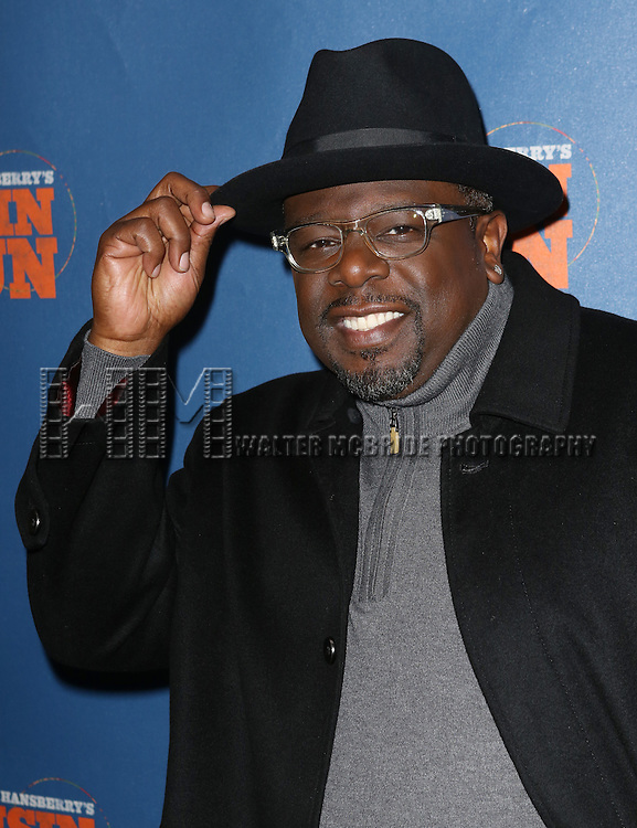 Cedric the Entertainer attending the Broadway Opening Night Performance of 'A Raisin In The Sun'  at the Barrymore Theatre on April 3, 2014 in New York City.