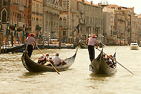 At the peak of its power and wealth in the thirteenth century, Venice was the most prosperous city in all of Europe and had 36,000 sailors operating 3,300 ships, dominating commerce in the Mediterranean. The gondola has been a part of Venetian life since the 11th century.