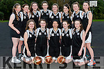 Colaiste Íde Senior basketball team who will be playing in the National Finals in Tallaght next week.