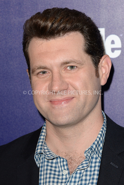 WWW.ACEPIXS.COM<br /> May 11, 2015 New York City<br /> <br /> Billy Eichner attending the Entertainment Weekly and People celebration of The New York Upfronts at The Highline Hotel onMay 11, 2015 in New York City.<br /> <br /> Please byline: Kristin Callahan/AcePictures<br /> <br /> Tel: (646) 769 0430<br /> e-mail: info@acepixs.com<br /> web: http://www.acepixs.com