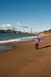 Baker Beach, Golden Gate Bridge, San Francisco, California, USA.  Photo copyright Lee Foster.  Photo # california108665