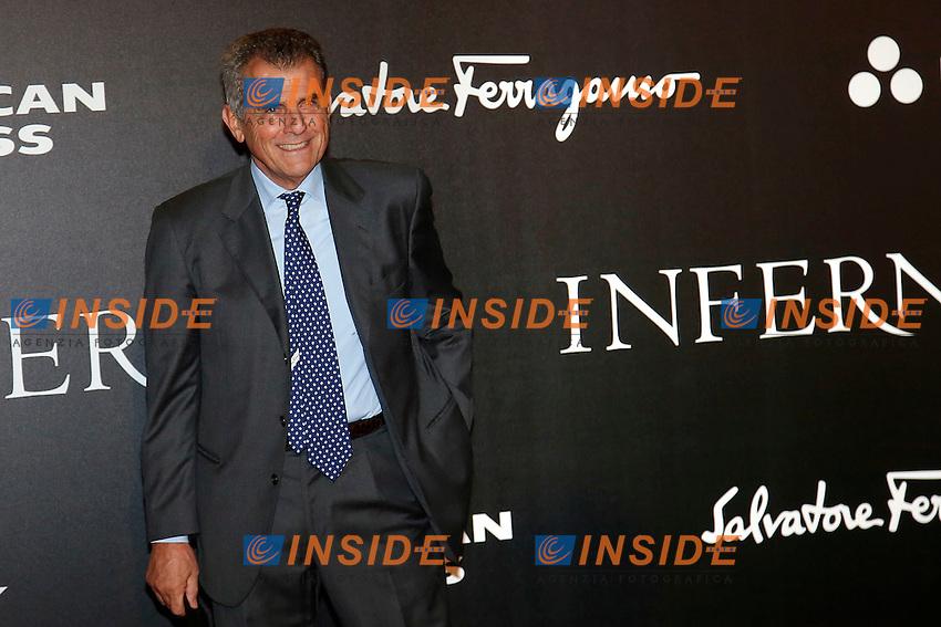 Salvatore Ferragamo<br /> Firenze 08-10-2016. 'Inferno' Anteprima Mondiale.<br /> Florence 8th October 2016. 'Inferno' World Premiere.<br /> Foto Samantha Zucchi Insidefoto