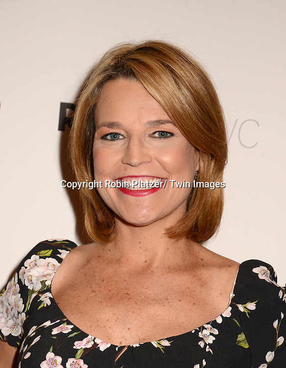 """Savannah Guthrie attends the New York Premiere of """"FED UP"""" on May 6, 2014 at The Museum of Modern Art in New York City."""