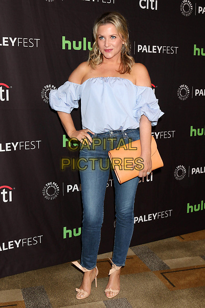 LOS ANGELES, CA - MARCH 19: Jessica Capshaw at the 34th Annual PaleyFest presentation of Grey's Anatomy at the Dolby Theater in Los Angeles, California on March 19, 2017. <br /> CAP/MPI/DE<br /> &copy;DE/MPI/Capital Pictures