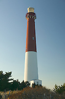 Barnegat lighthouse, Old Barney, on Barnegat inlet, Long Beach Island, New Jersey