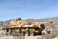 M60 Tanks at the General Patton Memorial Museum