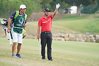 Pablo Larrazabal (ESP) during Round 4 of the Portugal Masters, Dom Pedro Victoria Golf Course, Vilamoura, Vilamoura, Portugal. 27/10/2019<br /> Picture Andy Crook / Golffile.ie<br /> <br /> All photo usage must carry mandatory copyright credit (© Golffile | Andy Crook)