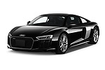2017 Audi R8 base 2 Door Coupe angular front stock photos of front three quarter view