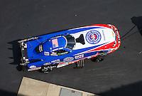 Sep 17, 2016; Concord, NC, USA; NHRA funny car driver Robert Hight during qualifying for the Carolina Nationals at zMax Dragway. Mandatory Credit: Mark J. Rebilas-USA TODAY Sports