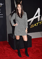 WESTWOOD, CA - FEBRUARY 05: Brittany Duncan attends the Premiere Of 20th Century Fox's 'Alita: Battle Angel' at Westwood Regency Theater on February 05, 2019 in Los Angeles, California.<br /> CAP/ROT/TM<br /> &copy;TM/ROT/Capital Pictures