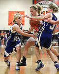 The Carson Senators upset the Douglas Tigers 43-24 on Friday, Jan. 28, 2011 in Minden, Nev..Photo by Cathleen Allison