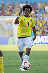 Juan Guillermo Cuadrado during the friendly match between Camerun and Colombia in Madrid, Spain 13 jun 2017.(ALTERPHOTOS/Rodrigo Jimenez)