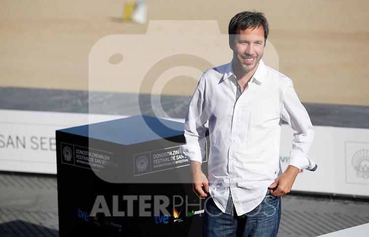 Director Denis Villeneuve posses during the 61 San Sebastian Film Festival, in San Sebastian, Spain. September 21, 2013. (ALTERPHOTOS/Victor Blanco)