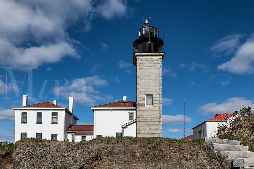 Beavertail Lighthouse, Jamestown, Rhode Island, USA.