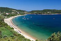 Greece, Thessaly, Northern Sporades, Island Skiathos: Agia Paraskevi beach | Griechenland, Thessalien, Noerdliche Sporaden, Insel Skiathos: Agia Paraskevi beach