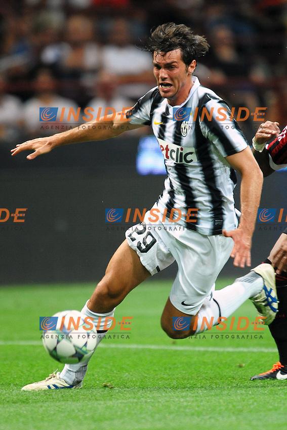 "Paolo DE CEGLIE Juventus.Milano 21/8/2011 Stadio ""Giuseppe Meazza San Siro"".Trofeo ""Luigi Berlusconi"".Calcio Football - Milan Vs Juventus .Foto Insidefoto Andrea Staccioli"