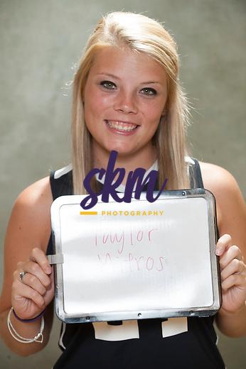Stevenson University field hockey team head shots and team photo.