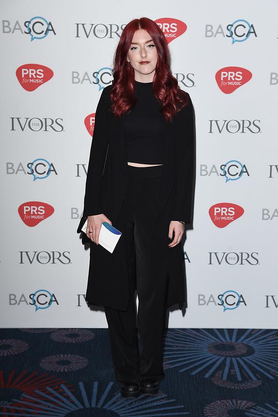 Elina Stridh<br /> at The Ivor Novello Awards 2017, Grosvenor House Hotel, London. <br /> <br /> <br /> ©Ash Knotek  D3267  18/05/2017