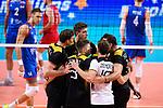 13.09.2019, Paleis 12, BrŸssel / Bruessel<br />Volleyball, Europameisterschaft, Deutschland (GER) vs. Serbien (SRB)<br /><br />Jubel Deutschland<br /><br />  Foto © nordphoto / Kurth