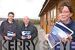 Staff from Ghaeltacht Comhchoiste Uíbh Ráthaigh preparing for Múscailt Uíbh Ráthaigh which will be held in the Waterville Lake Hotel on the 18th & 19th November pictured here l-r; Cian Ó hAileasa, Diarmuid Ó Sé agus Caitlín Breathnach.