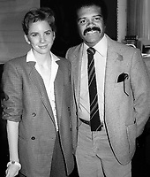 Melissa Gilbert and Ted Lange 1983<br /> NAPTE Convention<br /> Photo By John Barrett/PHOTOlink