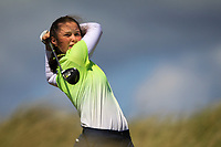 Aine Donegan (Woodstock) during the 1st round of the Irish Women's Open Stroke Play Championship, Enniscrone Golf Club, Enniscrone, Co. Sligo. Ireland. 16/06/2018.<br /> Picture: Golffile | Fran Caffrey<br /> <br /> <br /> All photo usage must carry mandatory copyright credit (© Golffile | Fran Caffrey)