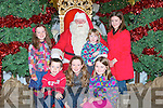 GROTTO: Santa had his hands full on Satuday at his Grotto at Manor West Retail Park, Shopping Centre on Satuday, they was, Niamh,Aoife,Jemma and Niall Fenton (Carragh lake), Niamh and Aisling Coffey (Tralee).............................. ..........