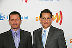Daniel Sladek & Chris Taafe at the 21st Annual GLAAD Media Awards on March 13, 2010 at the New York Marriott Marquis, New York City, NY. (Photo by Sue Coflin/Max Photos)