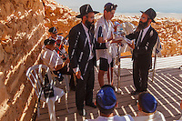 Israel, Galilee, Masada, Bar Mitzvah celebrations