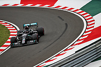 18th July 2020, Hungaroring, Budapest, Hungary; F1 Grand Prix of Hungary, qualifying sessions;  44 Lewis Hamilton GBR, Mercedes-AMG Petronas Formula One Team on his way to winning pole