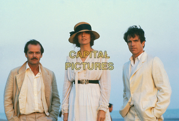 JACK NICHOLSON, DIANE KEATON & WARREN BEATTY.in Reds.*Editorial Use Only*.Ref: FB.www.capitalpictures.com.sales@capitalpictures.com.Supplied by Capital Pictures.
