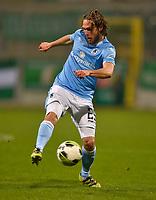13.01.2018, Football Regionalliga Bayern 2017/2018, pre season friendly TSV 1860 Muenchen  -  BSG Chemie Leipzig Gruenwalder stadium. Lukas Genkinger (TSV 1860 Muenchen) . *** Local Caption *** © pixathlon<br /> <br /> +++ NED + SUI out !!! +++<br /> Contact: +49-40-22 63 02 60 , info@pixathlon.de