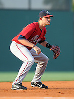 June 2, 2009: Infielder Ryan Peisel (30) of the Asheville Tourists, Class A affiliate of the Colorado Rockies, in a game against the Greenville Drive at Fluor Field at the West End in Greenville, S.C. Photo by: Tom Priddy/Four Seam Images