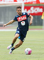 Dries Mertens  <br /> ritiro precampionato Napoli Calcio a  Dimaro 13<br /> Luglio 2015<br /> <br /> Preseason summer training of Italy soccer team  SSC Napoli  in Dimaro Italy July 13, 2015