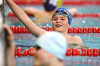 Picture by Richard Blaxall/SWpix.com - 14/04/2018 - Swimming - EFDS National Junior Para Swimming Champs - The Quays, Southampton, England - Swimmers share a joke after the race