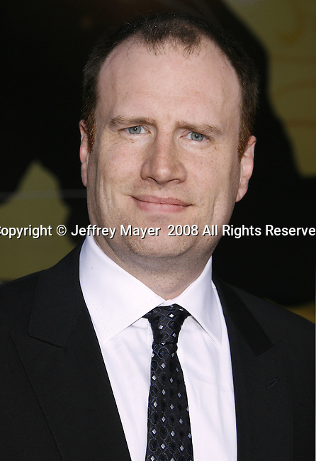 """Producer Kevin Fergie arrives to the """"Iron Man"""" premiere at Grauman's Chinese Theatre on April 30, 2008 in Hollywood, California."""