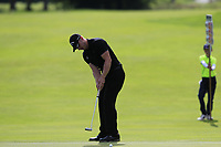 Scott Henry (SCO) putts on the 15th green during Sunday's Final Round of the Northern Ireland Open 2018 presented by Modest Golf held at Galgorm Castle Golf Club, Ballymena, Northern Ireland. 19th August 2018.<br /> Picture: Eoin Clarke | Golffile<br /> <br /> <br /> All photos usage must carry mandatory copyright credit (&copy; Golffile | Eoin Clarke)