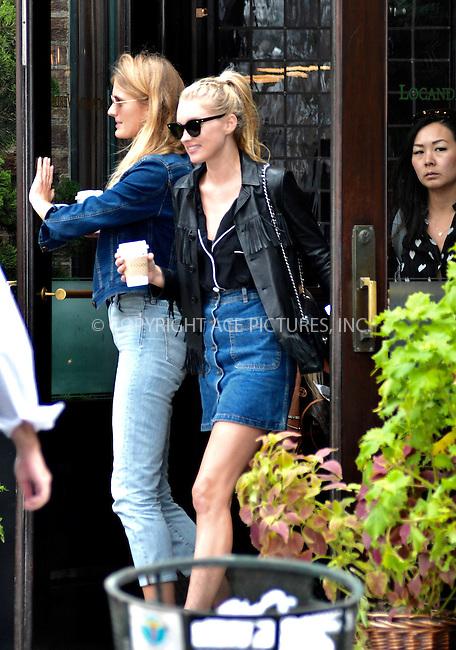 www.acepixs.com<br /> <br /> September 16 2016, New York City<br /> <br /> Model Elsa Hosk went out in Tribeca on September 16 2016 in New York City<br /> <br /> By Line: Curtis Means/ACE Pictures<br /> <br /> <br /> ACE Pictures Inc<br /> Tel: 6467670430<br /> Email: info@acepixs.com<br /> www.acepixs.com