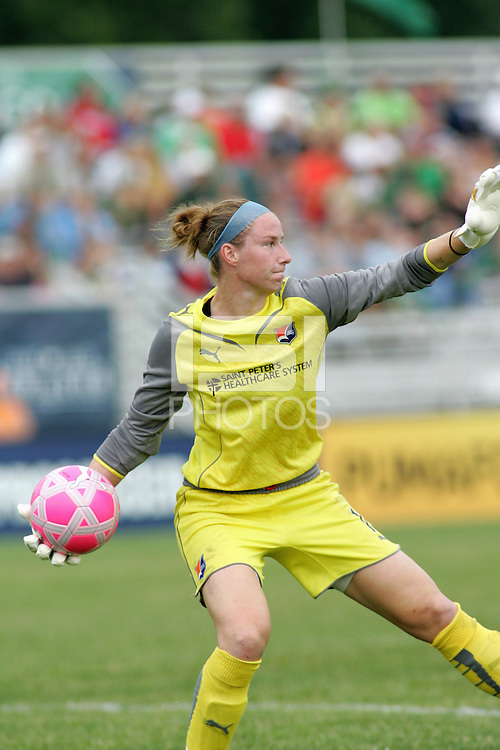 Karen Bardsley...Saint Louis Athletica defeated Sky Blue FC 1-0 at Anheuser-Busch Soccer Park, Saint Louis, MO.