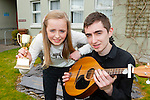 Breda and Sean Kelliher who won the Killarney Community College Who's Got Talent on Friday