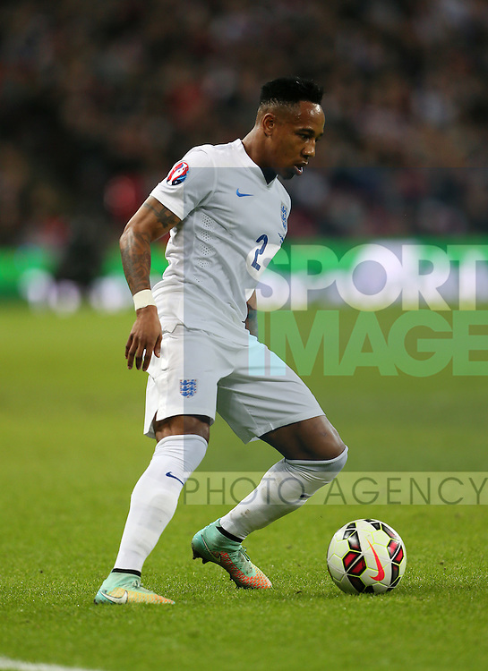 England's Nathaniel Clyne in action<br /> <br /> - International European Qualifier - England vs Slovenia- Wembley Stadium - London - England - 15th November 2014  - Picture David Klein/Sportimage