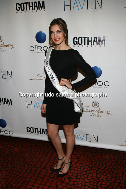 Miss USA Erin Brady Attends Seth Meyers at Gotham magazine's 'The Men's Issue' release party at The Sanctuary Hotel powered by CÎROC Vodka, NY
